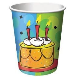 Cake Celebration 9 oz. Cups