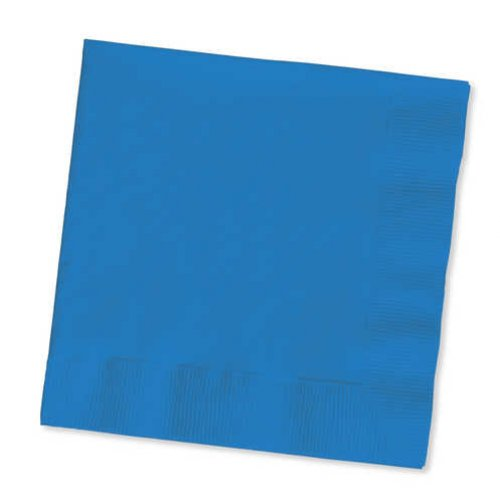 True Blue Beverage Napkin