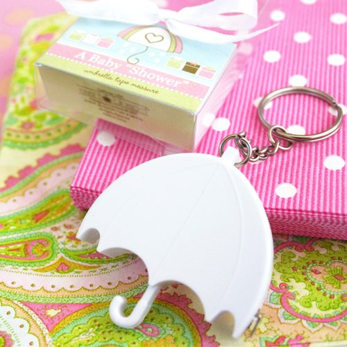 Personalized Umbrella Baby Shower Tape Measure