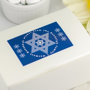 Personalized Rectangular Holiday Labels