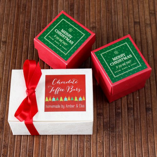 Personalized  Holiday Labels