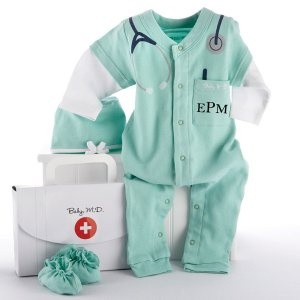 Baby M.D. Personalized Layette Gift Set