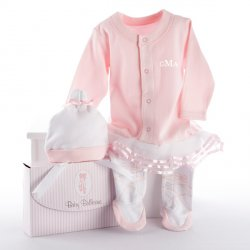 Baby Ballerina Personalized Layette Gift Set