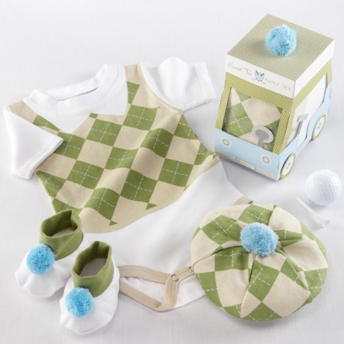 """Sweet Tee"" Golf Layette Gift Set"