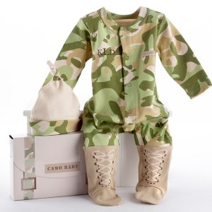 Baby Camo Personalized Layette Gift Set