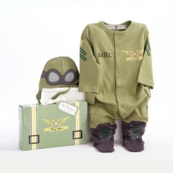 Baby Pilot Personalized Layette Gift Set