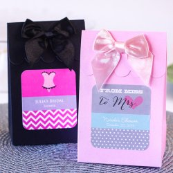 Personalized Bridal Shower Candy Bags