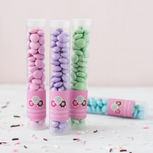 Personalized Kids Birthday Candy Tubes