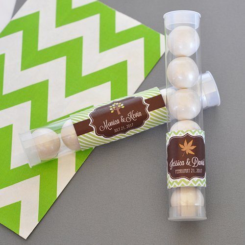 Personalized Fall Candy Tubes