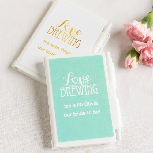 Personalized Love is Brewing Notebook