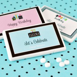 Personalized Birthday Mini Mint Pack