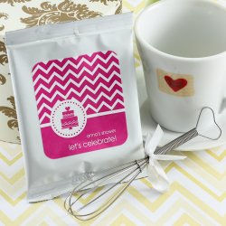 Personalized Bridal Shower Hot Chocolate