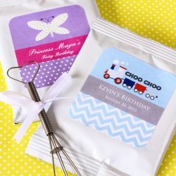 Personalized Lemonade Kids Birthday Favor