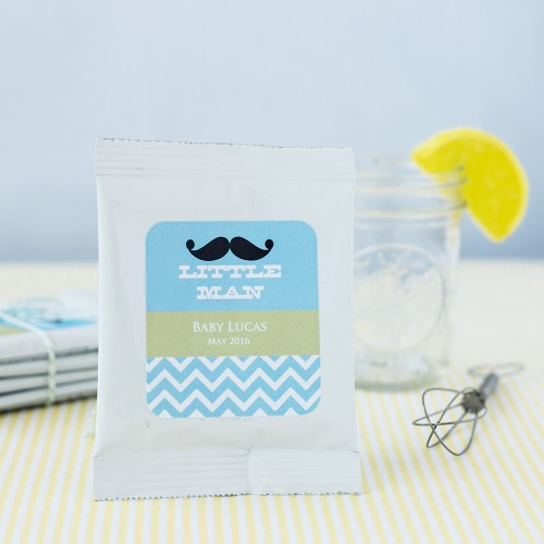 Personalized Lemonade Baby Shower Favor