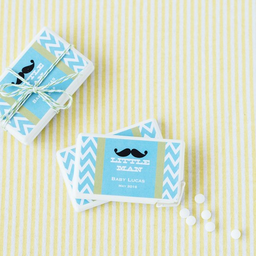 Personalized Baby Shower Mint Pack