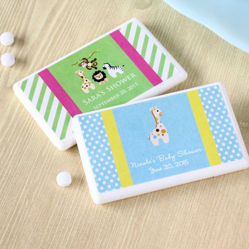 Personalized Baby Shower Mini Mint Pack