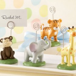 Mini Jungle Animal Place Card Holders