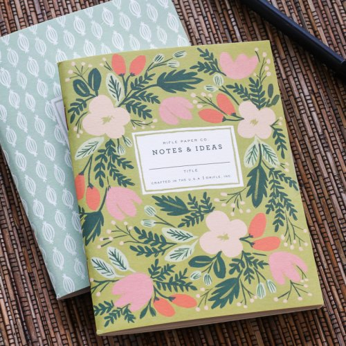 Floral Pocket Notebook Set