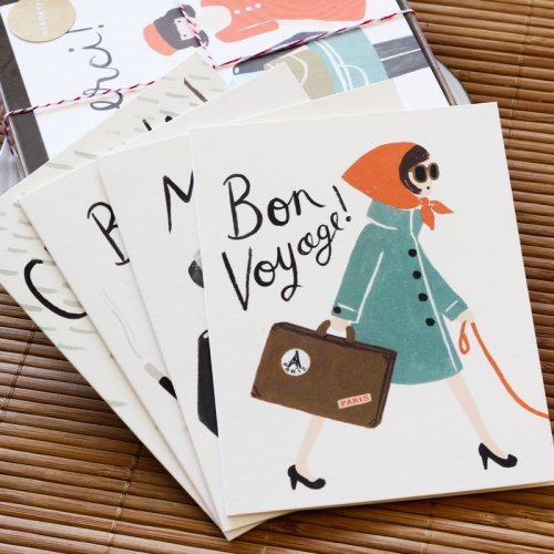 French themed Boxed Card Set