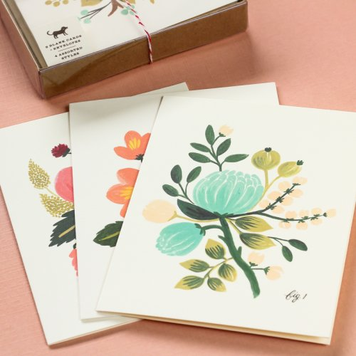 Assorted Floral Card Set