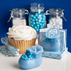 Baby Bootie Candle Favor