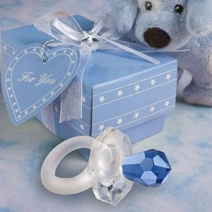Crystal Pacifier Favor