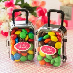 Mini Rolling Suitcase Favors