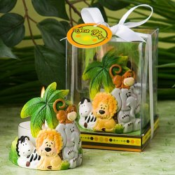 Jungle Critters Candle Favor