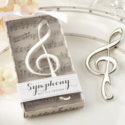 Symphony Music Note Bottle Opener