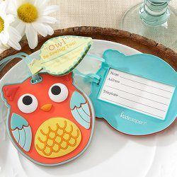 Owl Luggage Tag