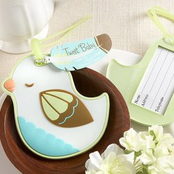 Baby Bird Luggage Tag
