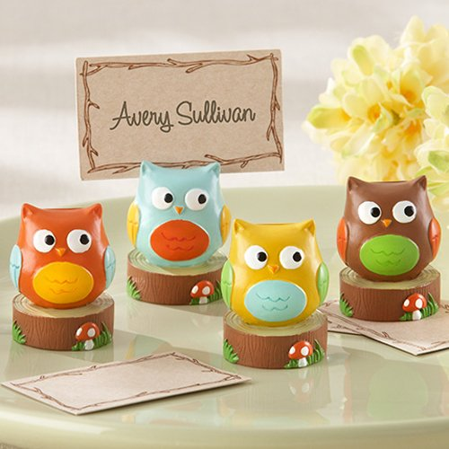 Baby Owl Place Card/Photo Holders