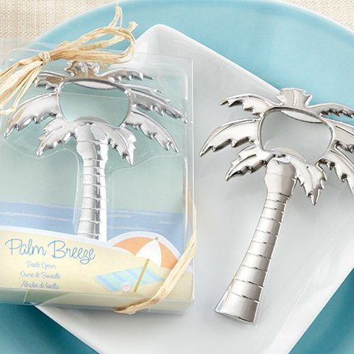 Palm Tree Bottle Openers in Silver