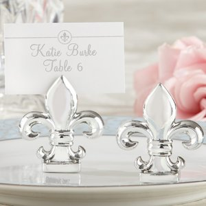 Fleur-De-Lis Place Card/Photo Holders