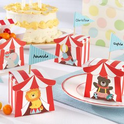 Circus Animal Favor Boxes