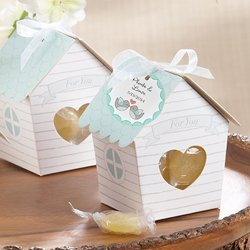 Personalized Bird House Favor Boxes