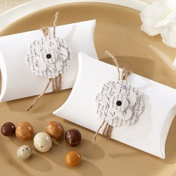 Love Letter Pillow Favor Boxes