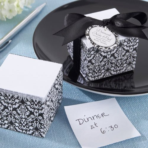 Damask Note Pad Favor