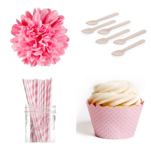 Pink Mini Dessert Table Party Kit
