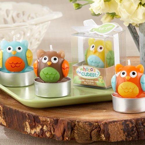 Assorted Baby Owl Candles