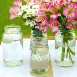 Personalized Mason Jar Assortment