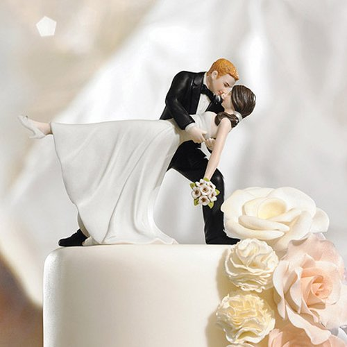 dancing couple wedding cake topper quot a dip quot cake topper 13328
