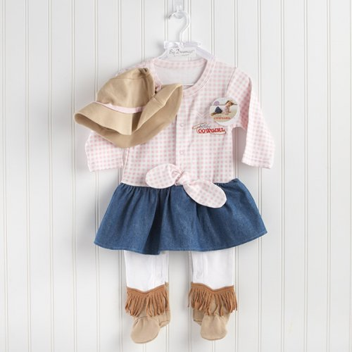 Baby Cowgirl Layette Gift Set