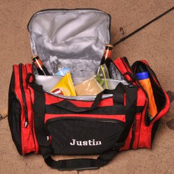 Personalized Cooler Duffle Bag