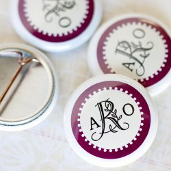 Personalized Button Pins