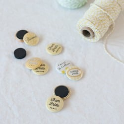 Personalized Button Magnets