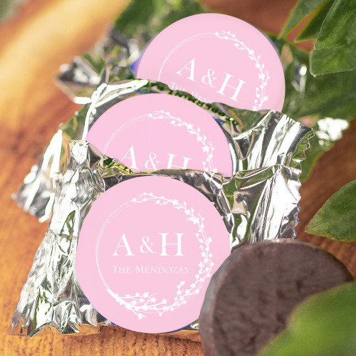 Personalized Cherry Blossom Wedding York Peppermint Patties