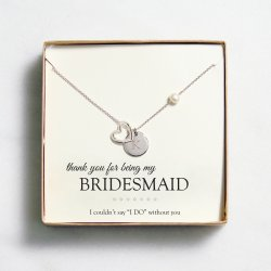 Personalized Open Heart Medallion Necklace