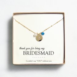 Personalized Pearl & Crystal Necklace