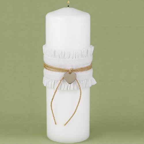 Rustic Romance Unity Candle
